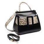 กระเป๋าหนังแท้ boyy karl รุ่น limited (หนังวัว ขัดมันเงา ลายงู) Size 30cm