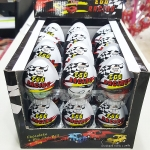 พร้อมส่ง ** Choco Egg - Egg Racing BOX ไข่ช็อคโกแลต แถมของเล่น แพ็ค 24 ลูก (สินค้ามีอย.ไทย)