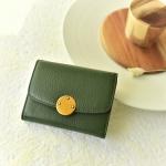 กระเป๋าสตางค์ หนังวัว รุ่น Berry wallet (Green)