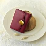 กระเป๋าสตางค์ หนังวัว รุ่น Berry wallet (Purple)