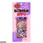 พร้อมส่ง ** Cammy Stick [Niboshi] ขนมแมวแบบแท่ง รสปลาแอนโชวี่ตากแห้ง ทำจากปลาสดคุณภาพดีจากฮอกไกโด ลักษณะเป็นสติ๊กชิ้นเล็กๆ นิ่มๆ ให้ง่ายๆ พอดีคำ น้องแมวชอบมากเคี้ยวกันเพลินสุดๆ ค่ะ 1 ห่อบรรจุ 10 แท่ง (20 กรัม)