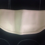 Rib Belt สีครีม Size S (22-26 นิ้ว)