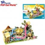 ชุดตะลุยป่าอเมซอน หรรษา Super model 3D puzzle โมเดล 3มิติ จิ๊กซอร์ 3 มิติ