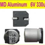 330UF 6V SMD Aluminum ติดปริ้น