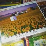 Sun Flower Paradise จิ๊กซอว์ 500 ชิ้น