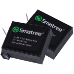 แบตเตอรี่ GoPro 4 ยี่ห้อ Smatree x 2 ก้อน