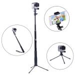 ไม้ Pole กล้อง GoPro ยี่ห้อ Smatree รุ่น SmaPole Q3 + mount โทรศัพท์