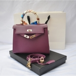 กระเป๋า hermes Kelly size 20 Purple