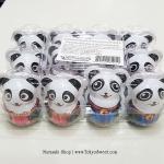 พร้อมส่ง ** Choco Egg - Panda BOX ไข่ช็อคโกแลต แถมของเล่น แพ็ค 12 ลูก (สินค้ามีอย.ไทย)