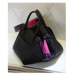 กระเป๋า hermes Lindy 30' Black-Pink