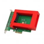 """PCI-Express SATA 6G Raid Caddy for 2.5"""" HDD x2"""