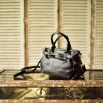 กระเป๋าหนังวัวแท้ Veronisika black