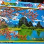 จิ๊กซอว์500ชิ้น Jigsaw Puzzle 500 Pieces Size 53*38 cm. Made in Thailand