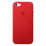 iPhone 5,5S,SE Leather Case - (PRODUCT)RED , เคสหนัง iPhone 5,5S,SE - (PRODUCT)RED