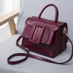 กระเป๋าหนังวัว Boyy Bags LUCAS (Wine red)