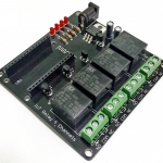 4 Channel Relay IoT Shield (ไม่รวมโมดูล NodeMCU V1.0)