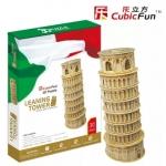 หอเอนปิซ่า Leaning Tower(ltaly) Pisa Total: 30 pcs Model Size: 12*12*22 cm