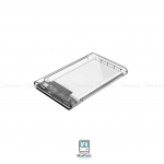 ORICO 2.5 inch Transparent Type-C Hard Drive Enclosure แบบใส