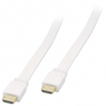 HDMI TO HDMI CABLE 1.5M COLOR FLAT WHITE