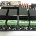 4Channels Internet of Things Relay Control with ESP8266 Microcontroller