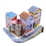 โมเดล 3มิติ จิ๊กซอร์ 3มิติ ชุดตัวต่อกระดาษโฟม Happiness is handmade. Avenue