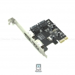 2 Port eSATA or SATA III (6.0Gbps) PCIe Controller Card For Mac Pro