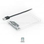 ORICO 2.5 inch Transparent USB3.0 Hard Drive Enclosure