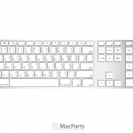 Apple Keyboard with Numeric Keypad - ภาษาไทย (Laser)