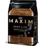 พร้อมส่ง ** MAXIM Deep Line กาแฟสำเร็จรูป กาแฟแม็กซิม บรรจุ 135 กรัม (ชงได้ประมาณ 67 แก้ว)