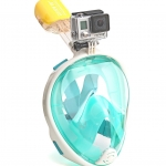 Easy Breath snorkeling mask - Size S/M - [ เขียว ] (Sea Travel)
