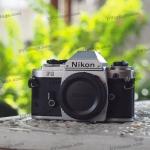 Body Nikon FG 35mm Film Camera (วัดแสงทำงาน)