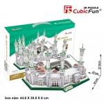 มัสยิดอัล Haram มัสยิด ฮาเรม Masjid Al-Haram Size 61*47*27.5 cm. total 249 pcs