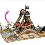 ไว้กิ้งโจรสลัด (Swinging Pirate Ship Ride) จำนวน : 76 ชิ้น ขนาดประกอบ : 27 x 19 x 18 cm.