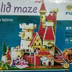 Big model Solid maze Fantastic Fortress ขนาด 36*28*34ซม.