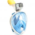 Easy Breath snorkeling mask - Size L/XL - [ ฟ้า ]