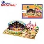 ละครสัตว์หรรษา (Exciting Circus and Pierrot) จำนวน : 82 ชิ้น ขนาดประกอบ : 27 x 19 x 9 cm.