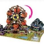 ชิงช้าฮัลโลวีน (Halloween Ferris Wheel) จำนวน : 112 ชิ้น ขนาดประกอบ : 27 x 19 x 16 cm.