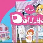 Girls Dream Dollahouse Villa Home