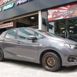 Honda Jazz GK + Rayswheel RE30 15x7+30 4-100