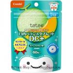 พร้อมส่ง ** Combi teteo Oral Balance Tablet DC+ [Melon] เม็ดอมป้องกันฟันผุรสเมล่อน บรรจุ 60 เม็ด