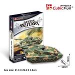 """Leopard 2 A5 """"Tank CubicFun 3D Puzzle 51 Pieces"""