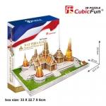 วัดไทย วัดพระศรีรัตนศาสดาราม (Wat Phra Kaew) วัดพระแก้ว 53.5x28x22.5 ซม. Total 152pcs.