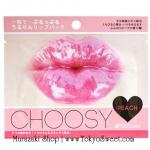 พร้อมส่ง ** Pure Smile Choosy Jelly Lip Pack [Peach] แผ่นเจลลี่มาส์ก บำรุงริมฝีปาก (กลิ่นพีช)