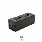 ORICO A3H7 High speed Aluminum USB3.0 7-Port HUB (Black)