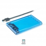 ORICO 2.5 inch Transparent Type-C Hard Drive Enclosure Blue
