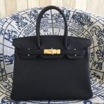 กระเป๋า hermes birkin 30' Black-Pink