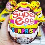 พร้อมส่ง ** Choco Egg - Super Egg Surprise ไข่ช็อคโกแลตลูกใหญ่เท่าฝ่ามือ แถมของเล่น