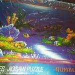 ภาพทะเล และปลาโลมา จิ๊กซอร์ 500 ชิ้น Numbering Jigsaw Puzzle 500 Pieces Size 53 x 38 cm.