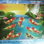 ภาพต่อจิ๊กซอว์ 500ชิ้น Numbering Jigsaw Puzzle 500 Pieces ขนาด 38*53 ซม.