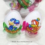 พร้อมส่ง ** Choco Egg - Dinosaur ในกระปุก ไข่ช็อคโกแลต แถมของเล่น 1 ลูก (สินค้ามีอย.ไทย)